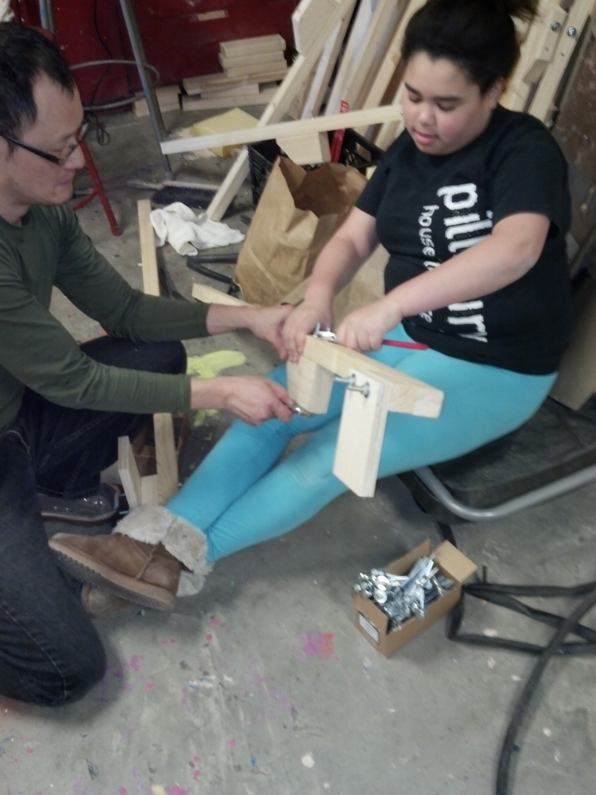 Building the stilts