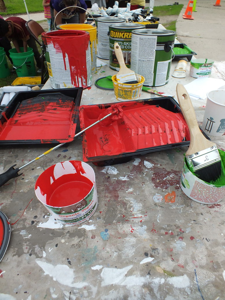 Paint the Pavement, June 8, 2013.
