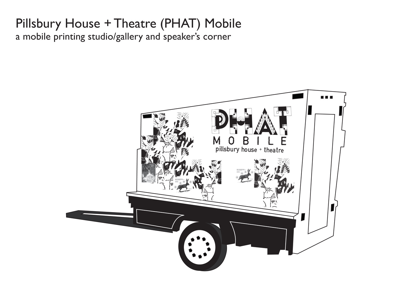 PHAT Mobilepotential trailer sketch